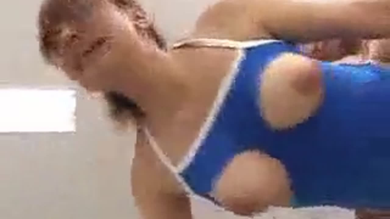 [fc2]水着を切り刻んで巨乳丸出しで輪姦される美少女