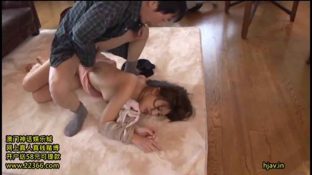 ミニスカが妖艶な本田莉子が背後から襲われレイプ調教に絶頂