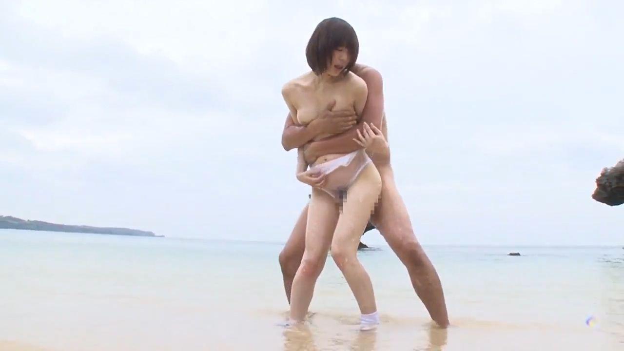 浜辺でローションヌルヌル スケスケSEX - Vidéo x sexy, érotique adulte