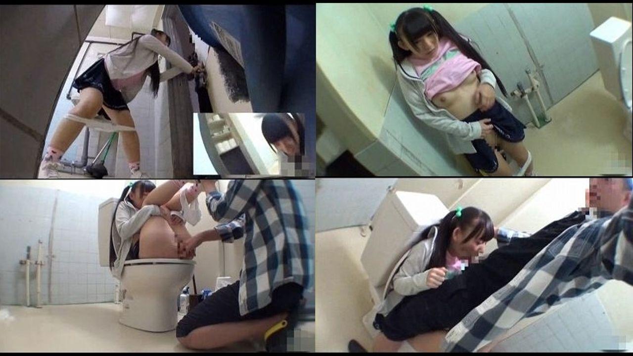 トイレにて、素人女性のオシッコ無料jyukujyo動画。オシッコ中にト...