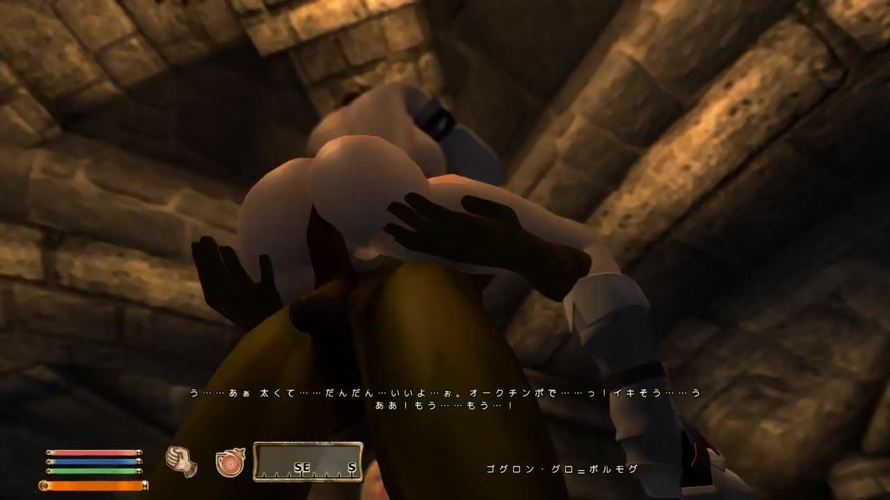 おぶ・らば Oblivion Lovers 04-Luka、闇兄弟の本拠でオークとヤる