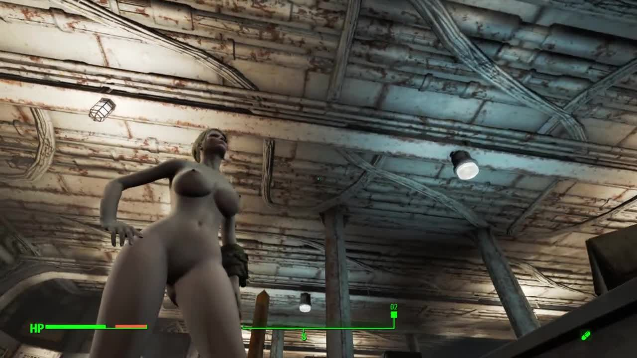 Fallout 4 全裸で探索中 006-海の怪物を追え! Part1
