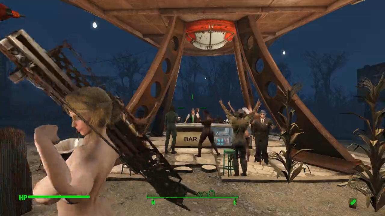 Fallout 4 全裸で探索中 033-キャッスル奪還作戦 Part2