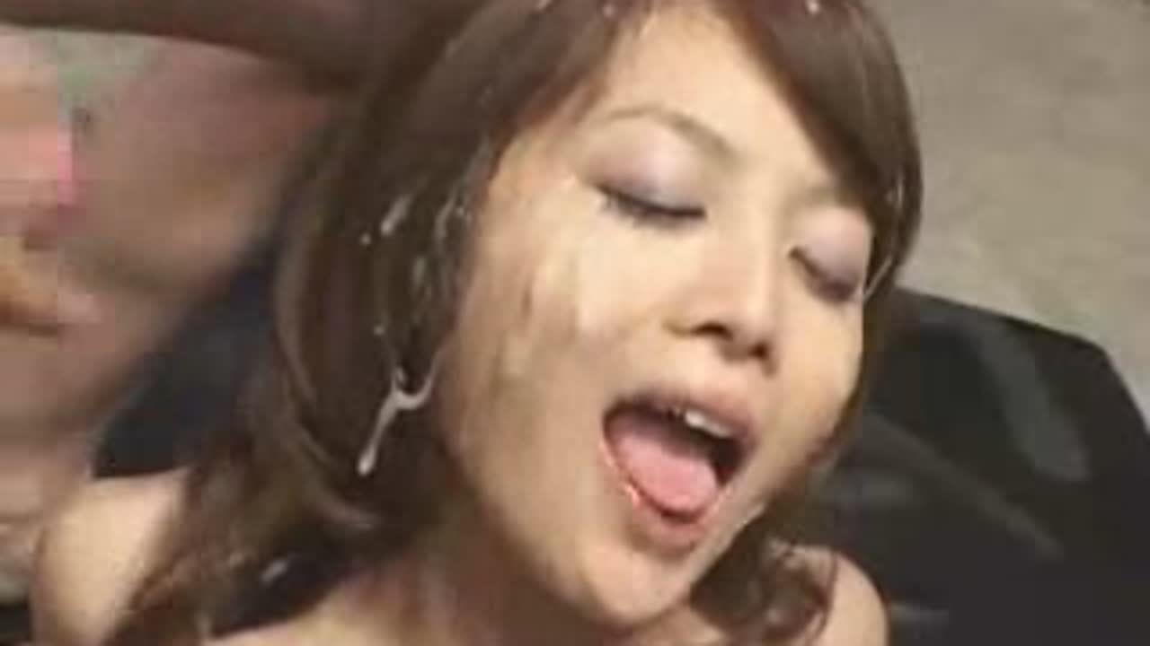 ホルスタイン乳ぶっっかけ顔射