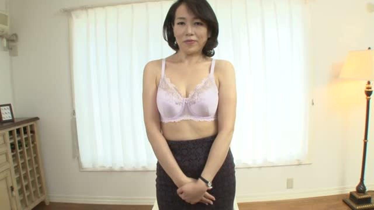 エッチしたくて応募しました!五十路の司杏子さんの初撮りドキュメント企画