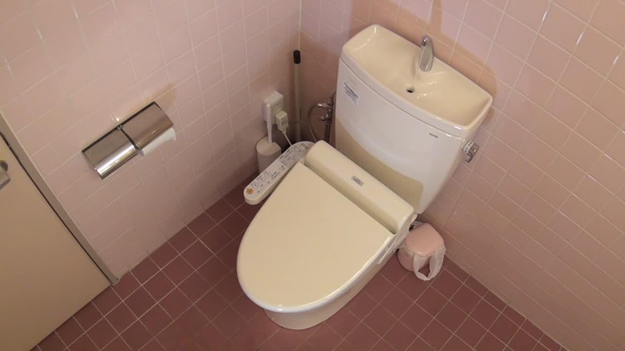 新井 巨乳ちゃんナースのお漏らしトイレずりせん