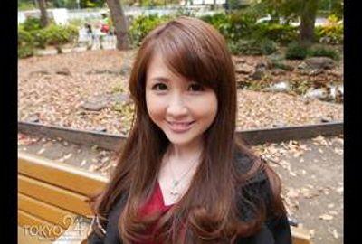 Tokyo247「えま」ちゃんはエクボの可愛いスレンダーな紗栄○子似の美女フリーター 無料01