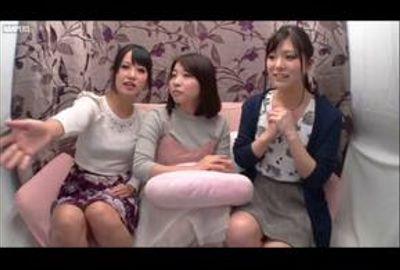 大学の友達同士♥初めてのレズ3P体験!【ナビ女優・朝倉ことみ】Vol.03