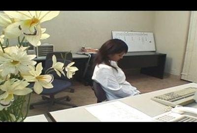 誰も居ないオフィスで、スリルと興奮オナニー PART 1