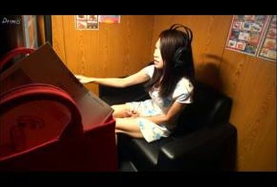 素人娘のマン喫内オナニー隠し撮り Vol.09