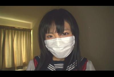 「みのりちゃん(仮)ドスケベセーラー服美少女と薄暗い部屋で中出しSEX」