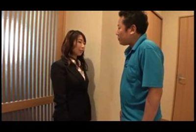 篠田あゆみがもしも…大人の玩具の訪問販売をしていたら…。