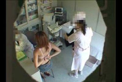 都内某婦人科医師Uのコレクション映像 医師たちのイタズラ診察映像エピソード14