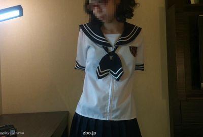 かわいいセーラー服コスプレ(半袖)