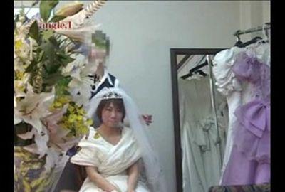 【試着室隠し撮り】結婚式前に狙われた花嫁 PART10