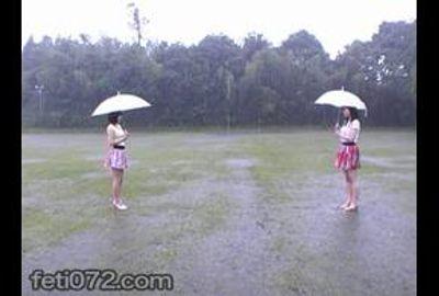 japanese messy raining lesbian