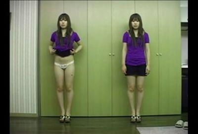 【ぱんちゅ】女子の生パンツをガン見する特集動画☆アソコもお尻のふくらみもパンティ興奮☆素人5人⑧