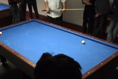 ビリヤード超絶トリックショット; Legends Mike Massey and Florian Venom Kohler doing 3 Cushion Billiard Trickshots