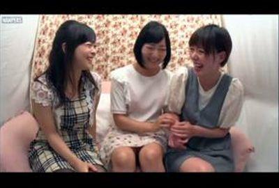 素人レズナンパ♥豪華ナビ女優4名SP!全裸ベロちゅ~&初3P体験!Vol.02