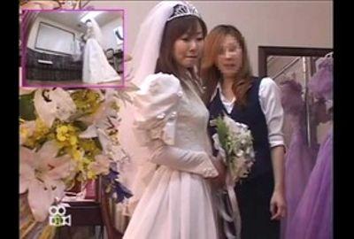 【試着室隠し撮り】結婚式前に狙われた花嫁 PART6