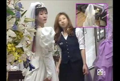 【試着室隠し撮り】結婚式前に狙われた花嫁 PART8