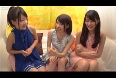あべみかこ&女友達同士!初めての3Pレズで絶頂体験!【ナンパ】Vol.01