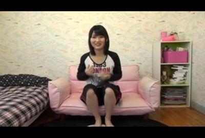ウリ営業用ビデオを自我撮りする女子校生