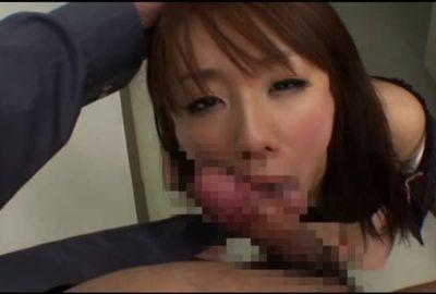 【崩壊OL】超美人の秘書課K美。乳首コリコリさせて営業課長の肉棒をブチ込まれる!