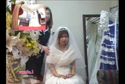 【試着室隠し撮り】結婚式前に狙われた花嫁 PART1