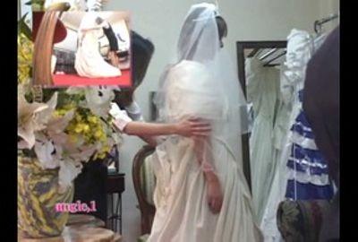 花嫁の生着替えを完全覗き見る! Vol.11