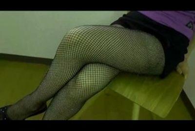 【パンストフェチ】パンスト履いた脚のじっくり鑑賞用動画☆ふとももから足の指先まで下半身☆エロ目線☆④