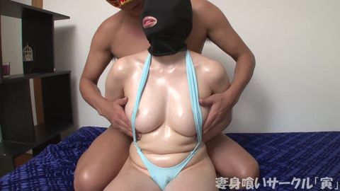 【個撮】美白ぷりぷり巨乳JDえま 媚オイルの大量摂取で強烈オーガズム中毒の女子大生